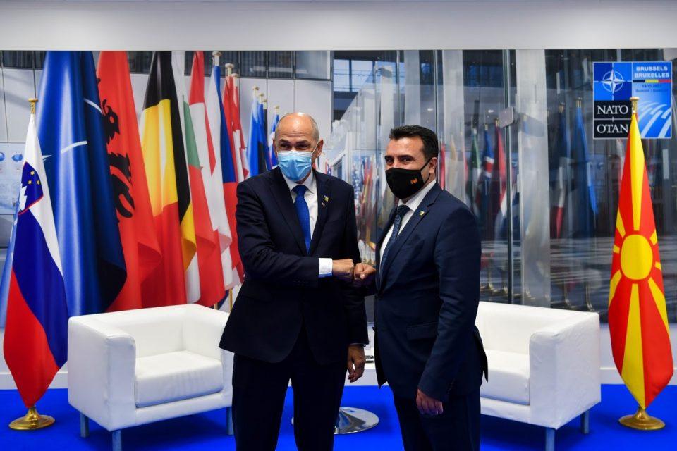 Заев – Јанша: Взаемната соработка и поддршка на двете земји е влог во европската иднина на Македонија
