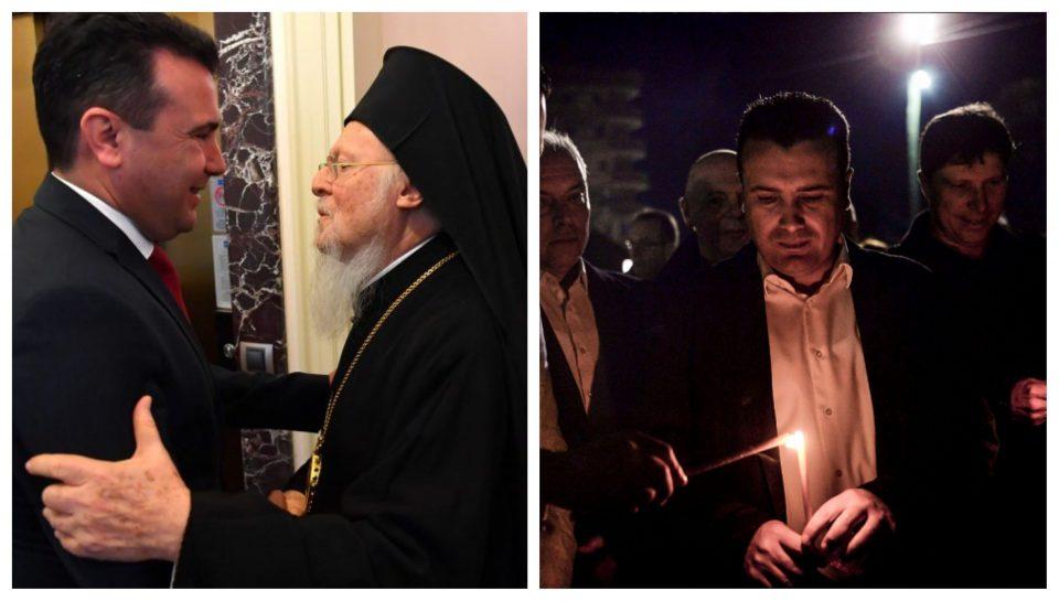 Заев: Јас сум голем верник, бев протестант, станав православец во 90-те