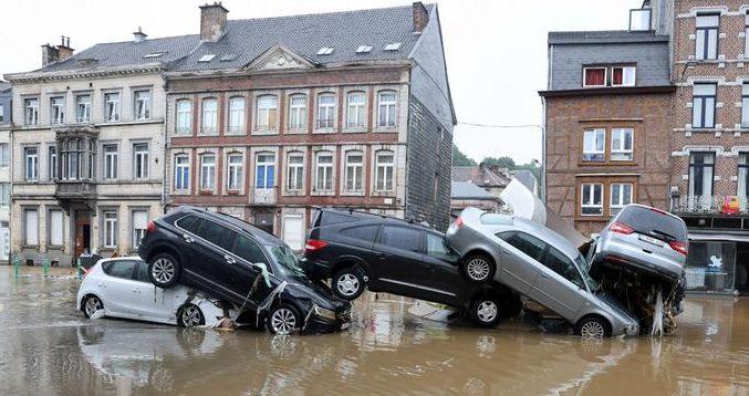 Делови од Белгија повторно под вода