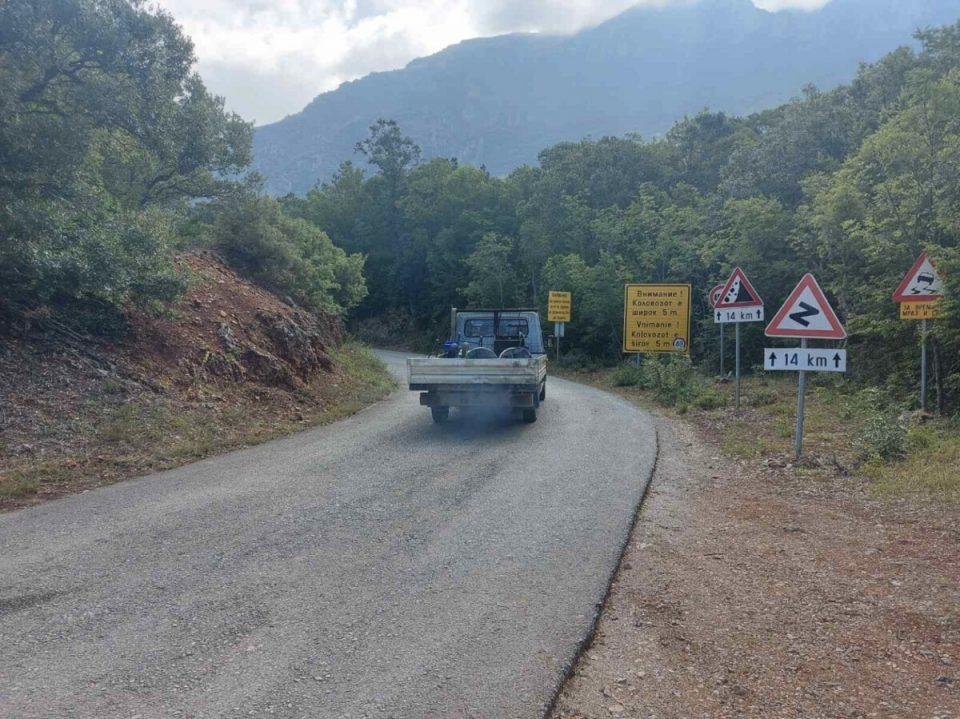 Делницата од Баба до Царина преку Галичица затворена за сообраќај до 17 часот