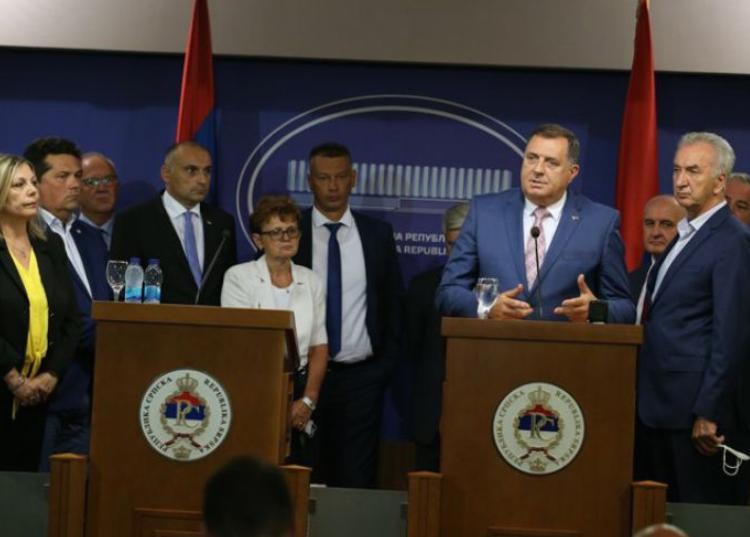 Политичките водачи од РС од утре нема да учествуваат во работата на институциите на БиХ