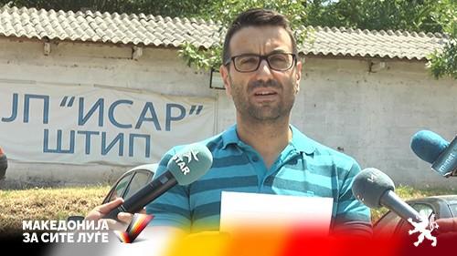 """(ВИДЕО) Ефтимов: Директорот на ЈП """"Исар"""" го остави половина Штип без вода на +40°C"""