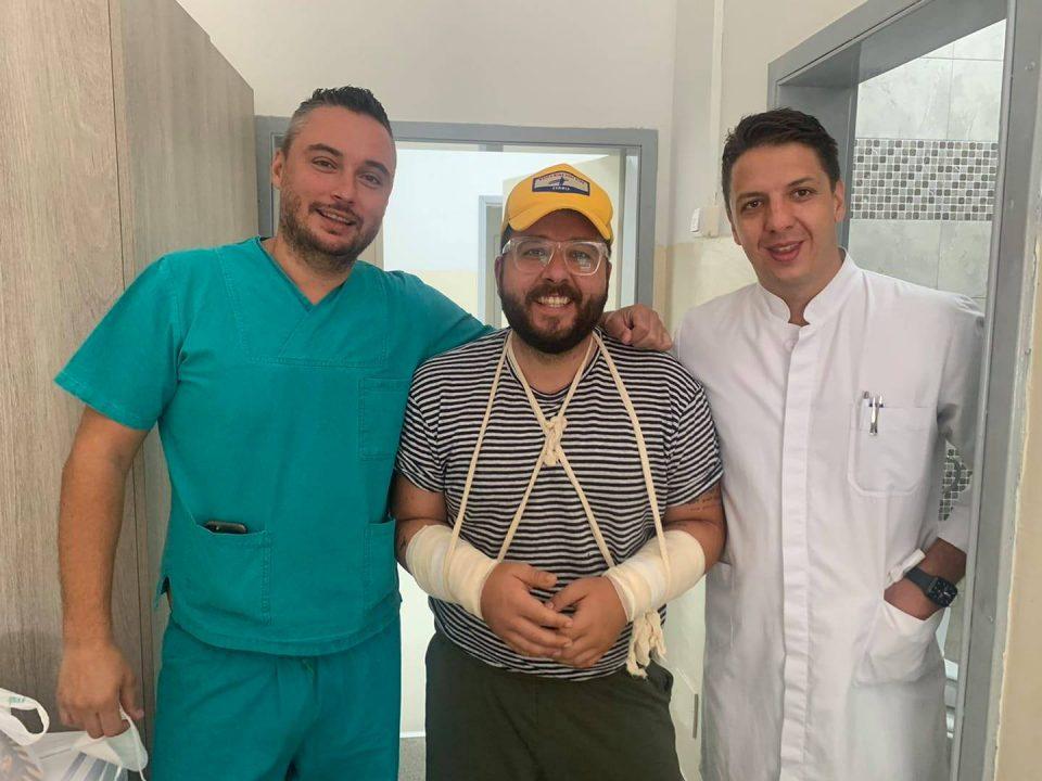 Коста Петров, директорот на Фонд за иновации паднал од велосипед и ги скршил двете раце