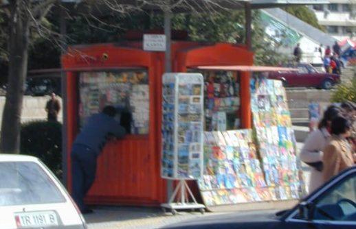 Киоск за цигари во Тирана се користел за продажба на кокаин