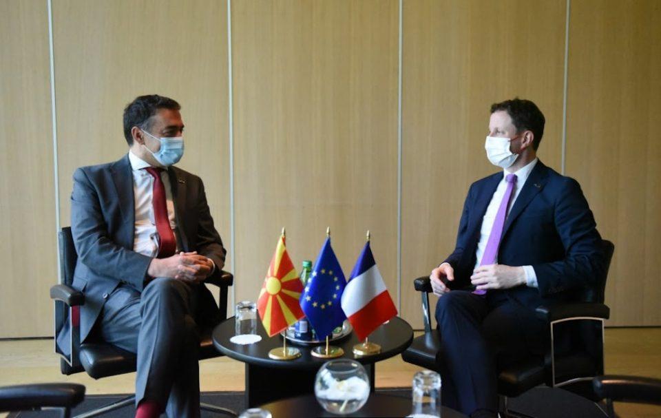 Средби на Димитров со повеќе министри од ЕУ