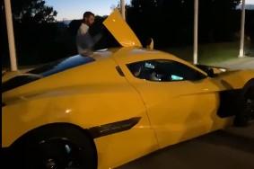 (ВИДЕО) Пендаровски се провозе во супер-автомобил вреден два милиони евра