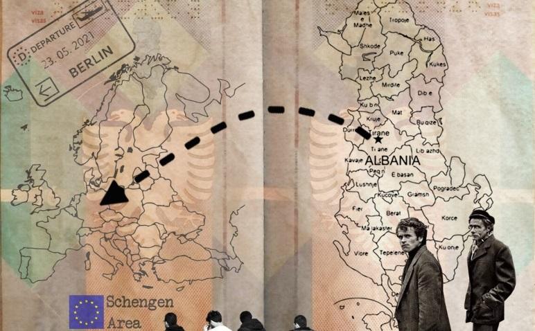 За десет години над 200 илјади граѓани на Албанија побарале азил во ЕУ и Швајцарија