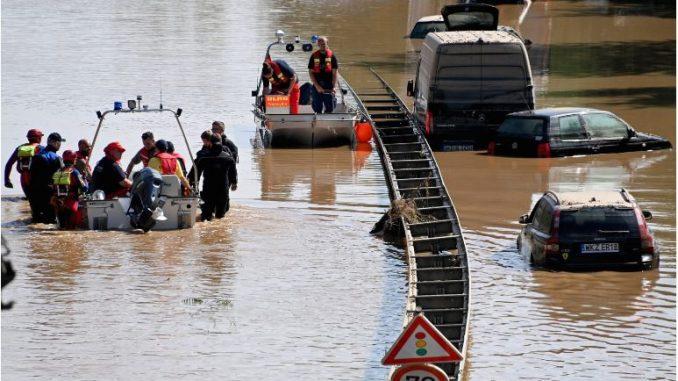 Штетите од поплавата во Германија 500 милиони евра