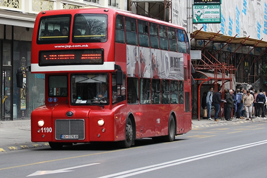 ЈСП: Од денеска автобусите во насока на Транспортен центар ќе сообраќаат по изменет режим