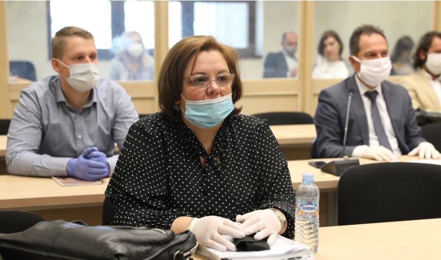 Катица Јанева спроведена во затворот Идризово