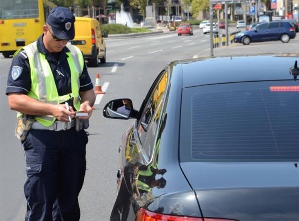 Санкционирани 338 возачи за пребрзо возење