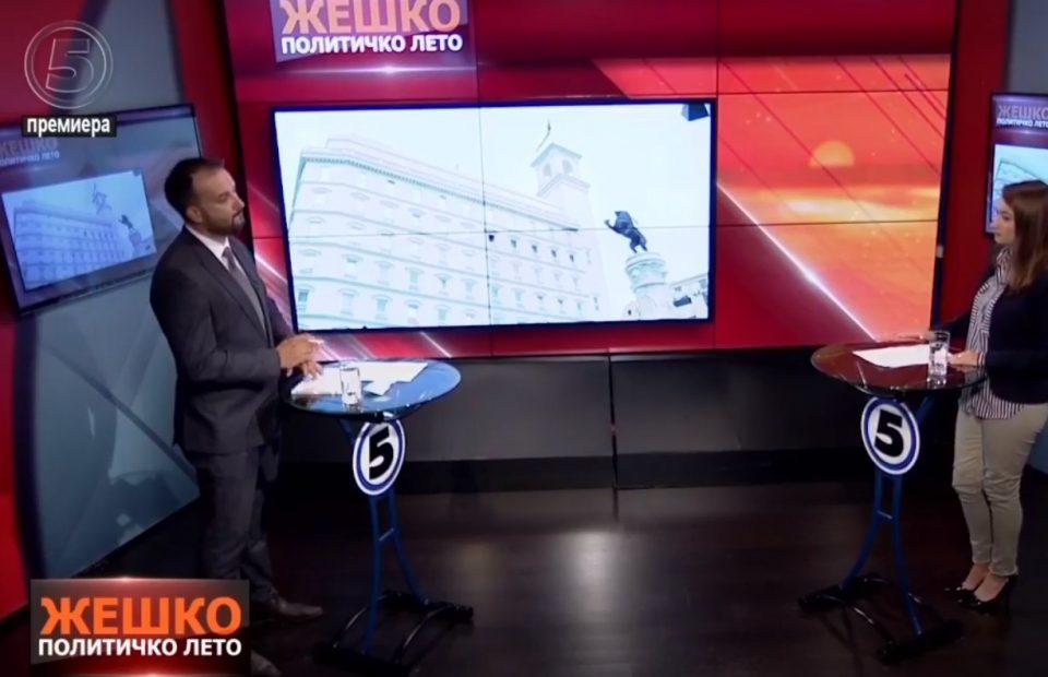 Лефков: Со Законот за изградба на автопатите СДСМ си создава потенцијал за тргување со влијание и самоволие