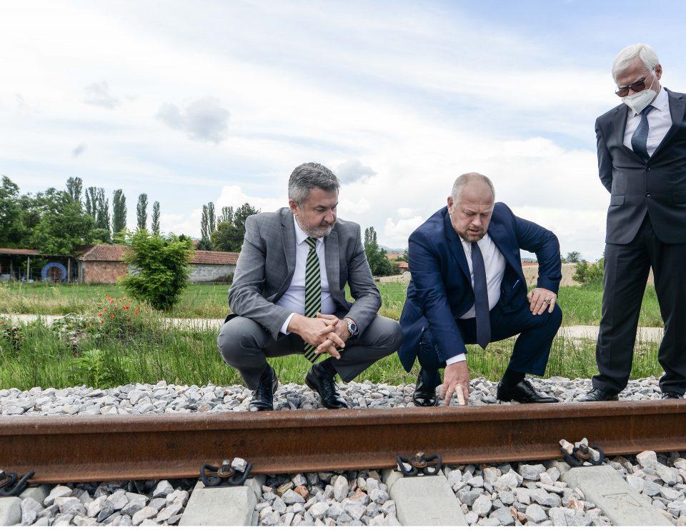 Нова прогноза за пругата кон Бугарија: Создадени предуслови во 2026 година да се заврши