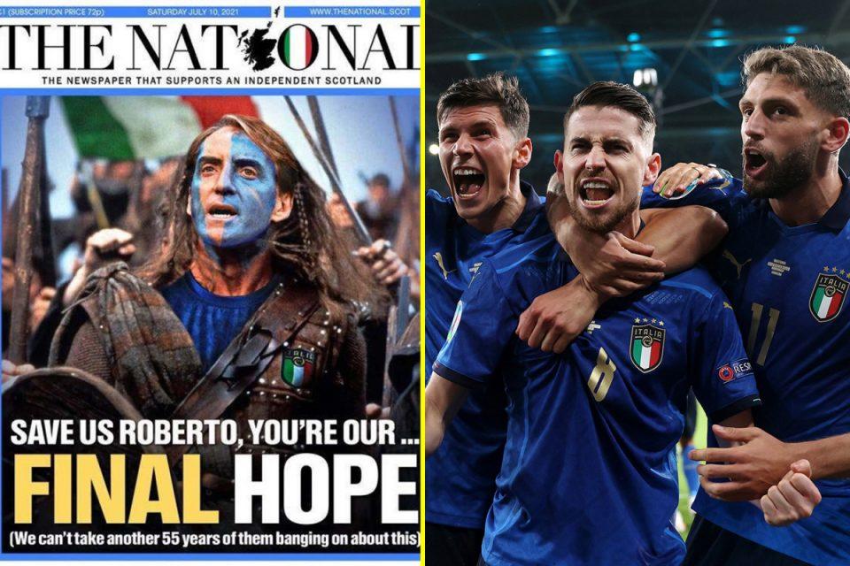 Шкотите посреќни дури и од Италијанците, бараат Манчини да биде прогласен за почесен граѓанин