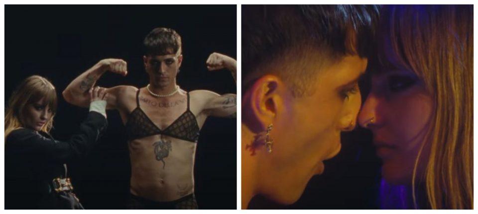"""(ВИДЕО) Евровизиските победници """"Манескин"""" со провокативен спот за една од нивните хит песни"""