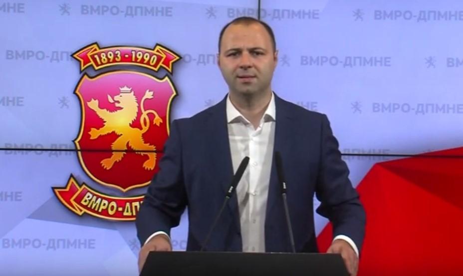Мисајловски: Извештајот на Стејт Департментот ја нотира криминогеноста на власта, тоа е нешто против кое ВМРО-ДПМНЕ се бори