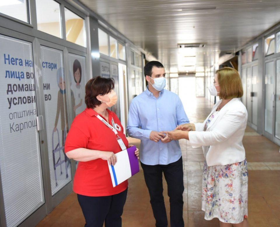Во општина Карпош 20 негуватели ќе се грижат за 60 лица над 65 години