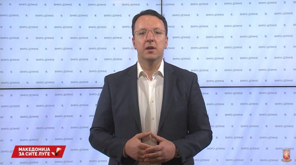 Николоски: Со закон бараме рефундирање на граѓаните кои се вакцинираа во странство поради неспособноста на Заев и Филипче