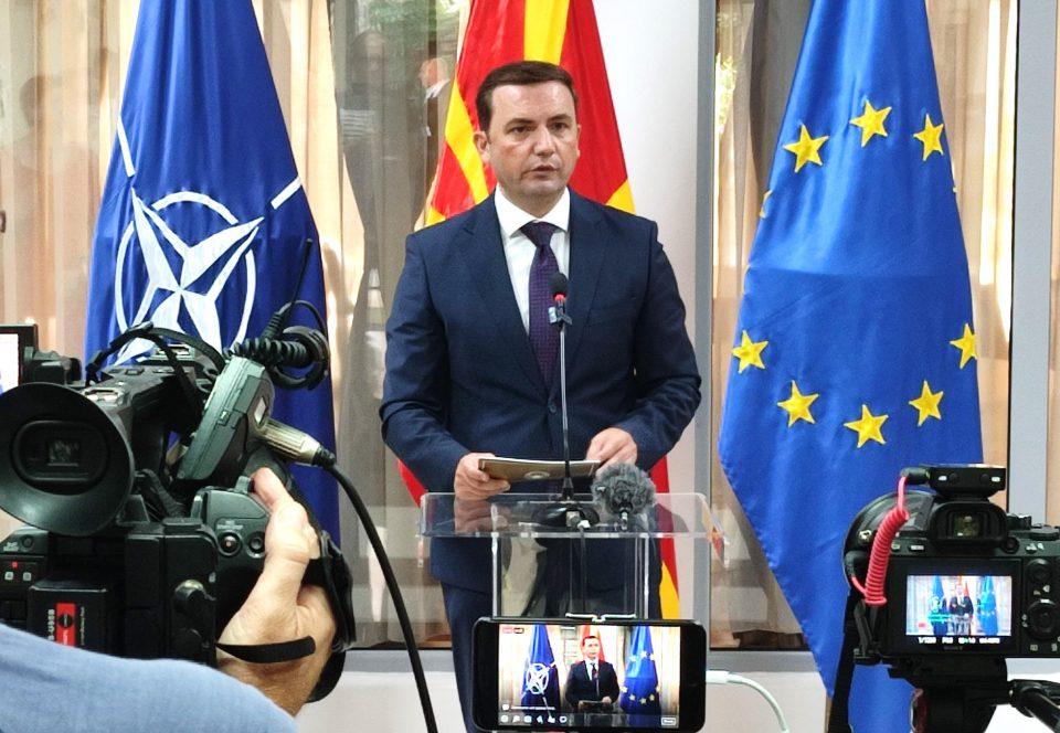 Османи оптимист: Има сериозни можности да се дојде до решение со Бугарија до крајот на годината