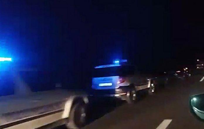 """Тетовската полиција одзела возила од """"диви тркачи"""""""