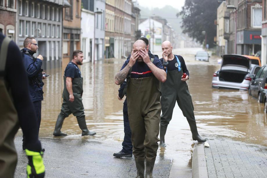 Ден на жалост во Белгија за жртвите од поплавите