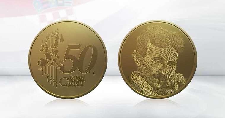 Србија најави мерки за Хрватска ако го стави ликот на Тесла на евро монетите