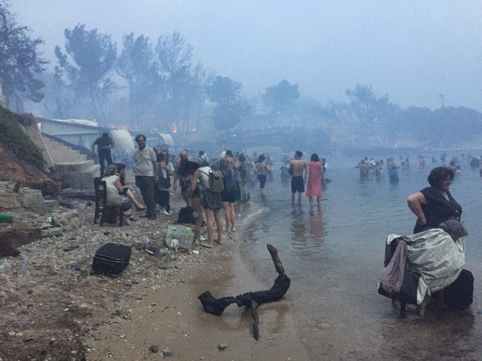 Три години од катастрофалните пожари во Грција во кои загинаа над 100 лица