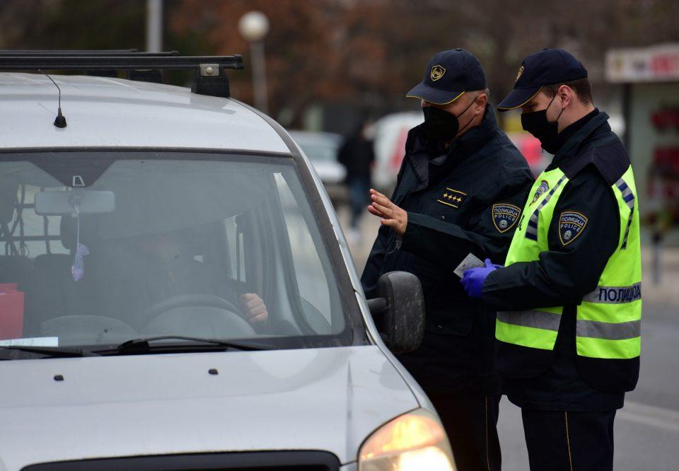 МВР: 243 казни во Скопје, 56 за брзо возење