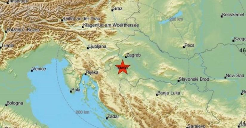 Земјотрес во Петриња од 3,5 степени