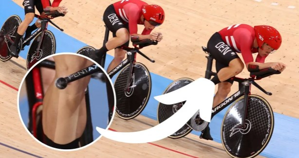 (ФОТО) Измама на Олимписките игри: Данските велосипедисти користеле забранета лента