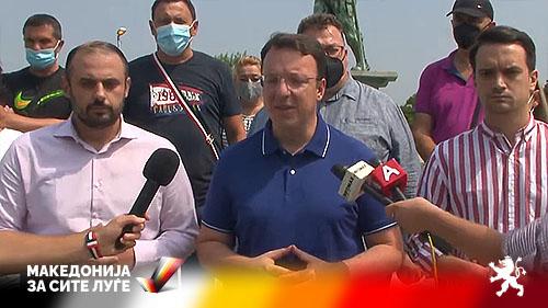 (ВИДЕО) Николоски од Кисела Вода: Убеден сум во победа, на 17 октомври завршува времето на неспособните градоначалници