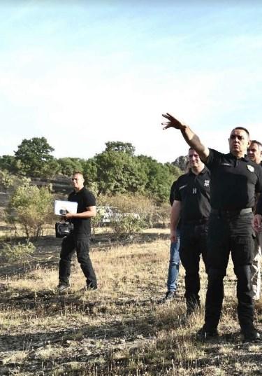 Спасовски и Вулин во Старо Нагоричане на увид во ситуацијата по вчерашниот пожар