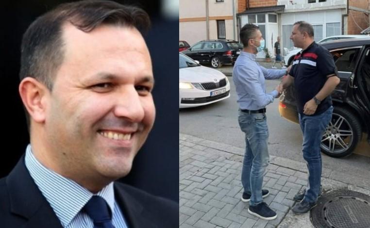 (ФОТО) ФАТЕН НА ДЕЛО: Спасовски користи службени возила за партиски активности!