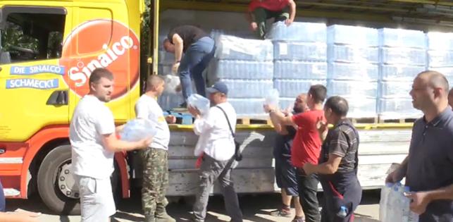(ВО ЖИВО) Донација од ВМРО-ДПМНЕ