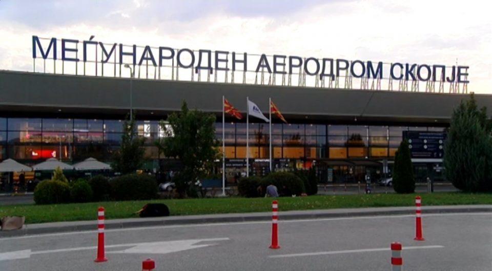 Професорката Астеруд приведена на скопскиот Аеродром