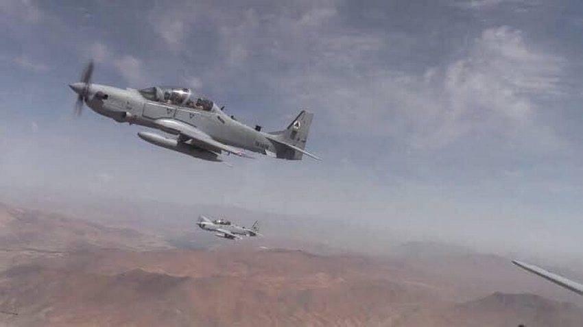 Над Узбекистан урнат авганистански воен авион