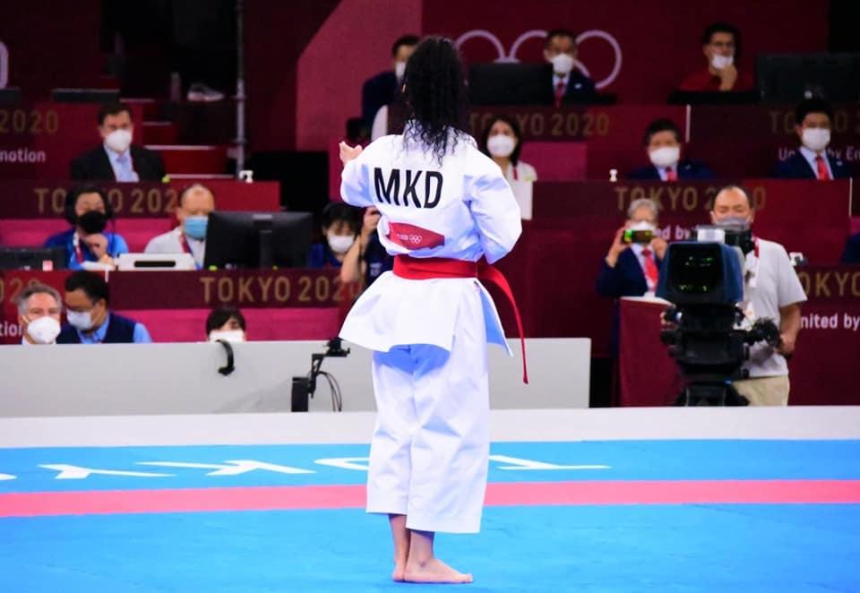 Деби на каратистката на Олимписките игри: Деветто место за Јованоска во Токијо