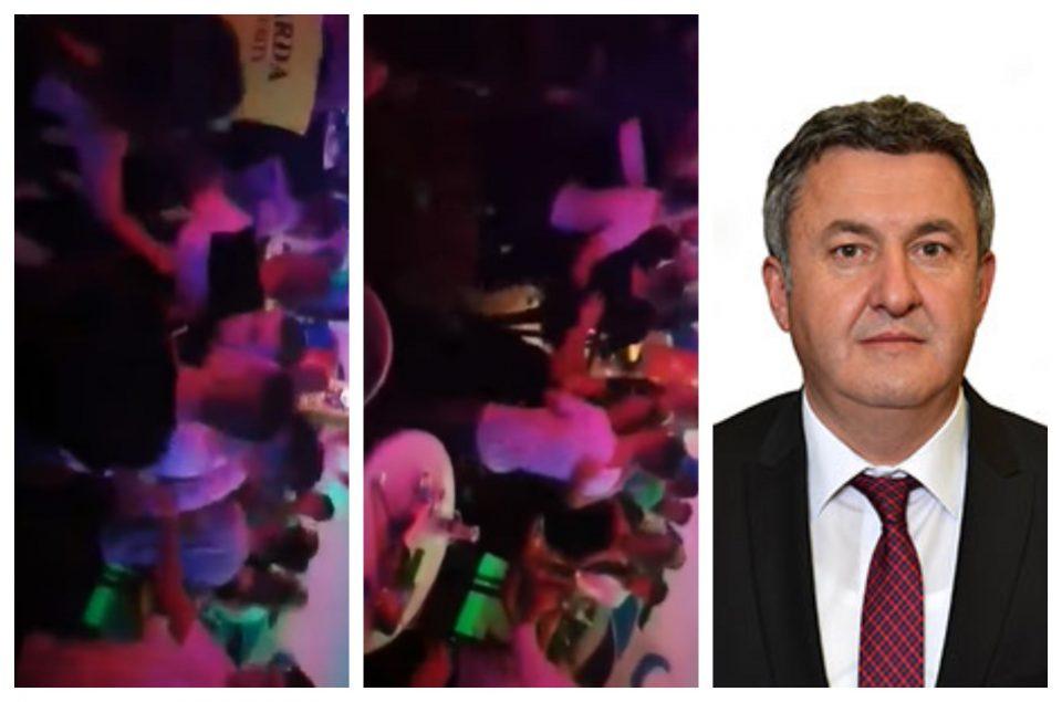 (ВИДЕО) Синовите на Хари Локвенец се тепаат во ноќен клуб во Прилеп