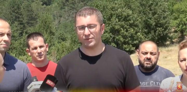 Мицкоски: Пожарникарите, мештаните и доброволците се хероите кои го спасија Будинарци