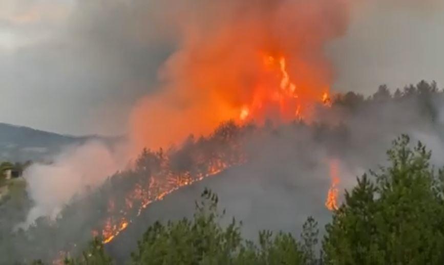 Главниот штаб за управување со кризи ја презема координацијата во борбата против пожарите