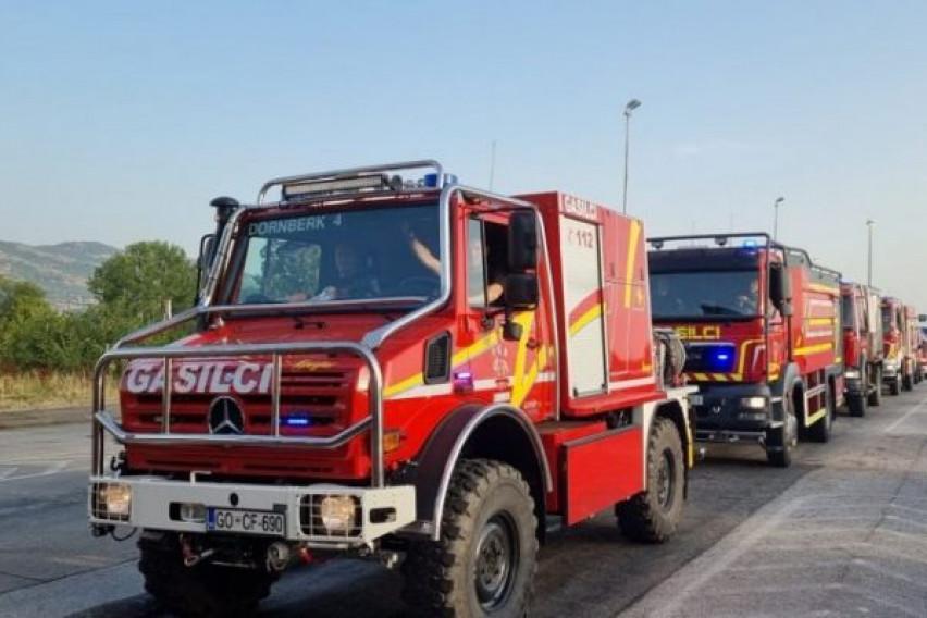 Словенскиот тим за заштита од пожари испратен во Берово