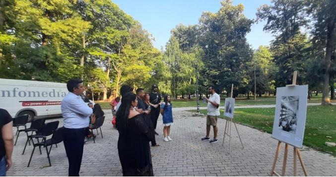 Денот за сеќавање на Холокаустот врз Ромите одбележан во Градскиот парк во Скопје