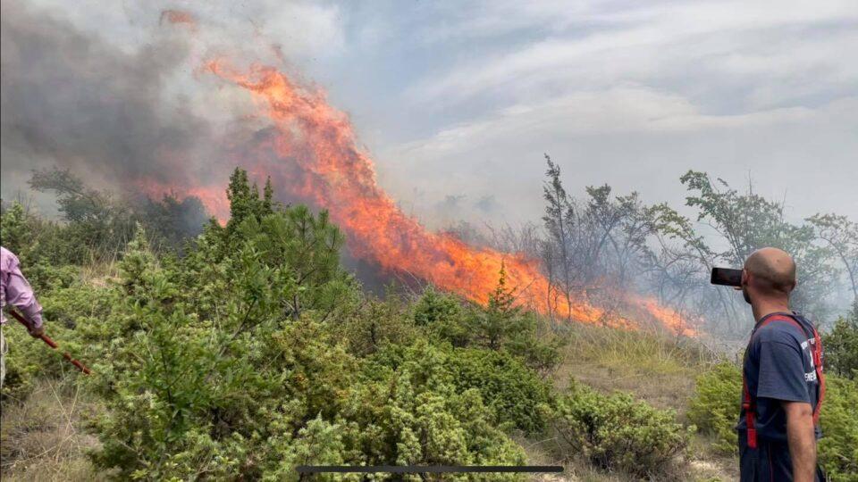 Изгаснат е пожарот во Ракотинци, Добри Дол и Долно Соње – екипите сепак ќе останат цела ноќ на терен