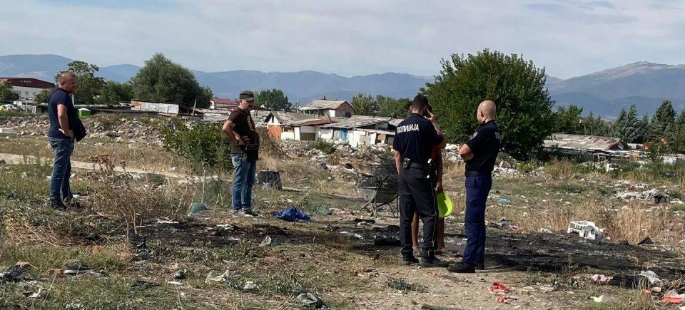 (ФОТО) Малолетник фатен на дело како ја пали депонијата Вардариште