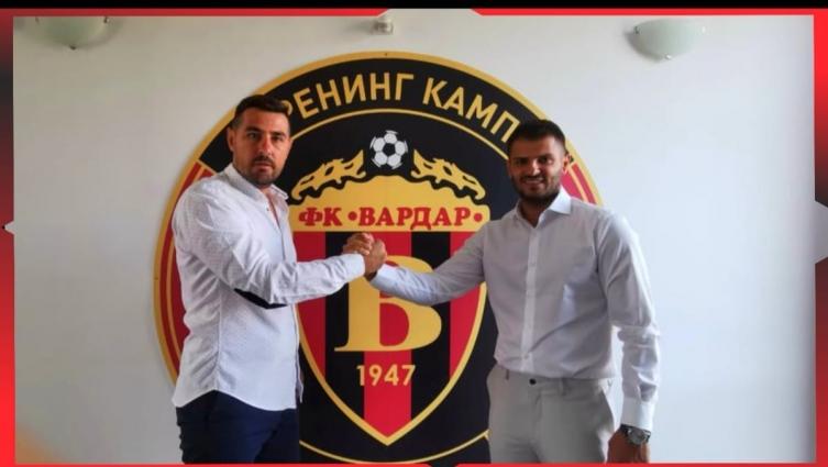 Александар Бајевски е нов спортски директор на Вардар