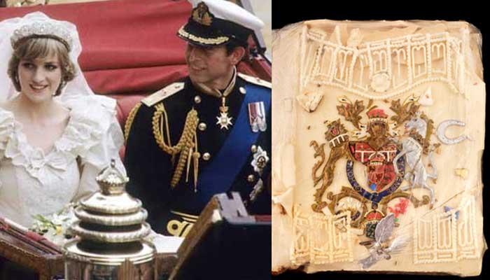 Парче торта од свадбата на принцезата Дијана и принцот Чарлс продадено за 2.000 фунти