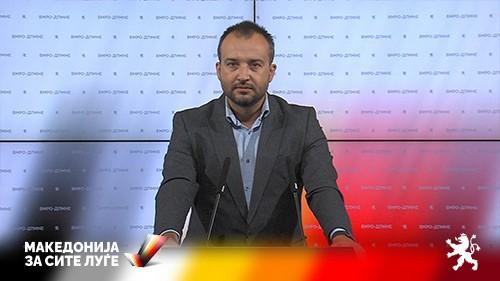 (ВИДЕО)Лефков: Власта на Заев дозволи криминалците наместо во затвор, да бидат на слобода и да хараат низ Македонија
