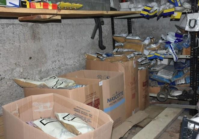 (ФОТО) Полицијата на Зелено пазарче барала режан тутун