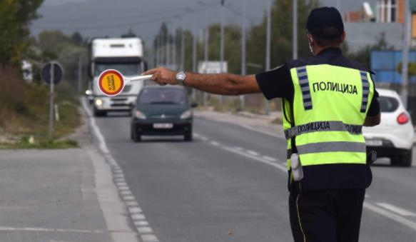 Несовесни возачи во Скопје: Изречен 171 сообраќаен прекршок