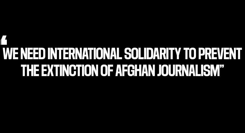 Стотина авганистански новинари бараат меѓународна поддршка за заштита на слободата на печатот